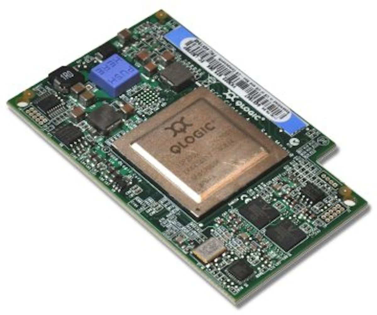 QLogic 8Gb Fibre Channel Expansion Card (CIOv) 8196Mbit/s netwerkkaart & -adapter