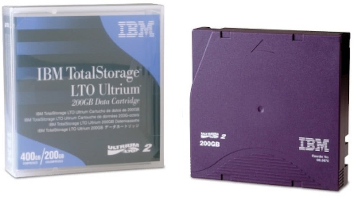 LTO Ultrium data cartridge 200 / 400GB 1-pack