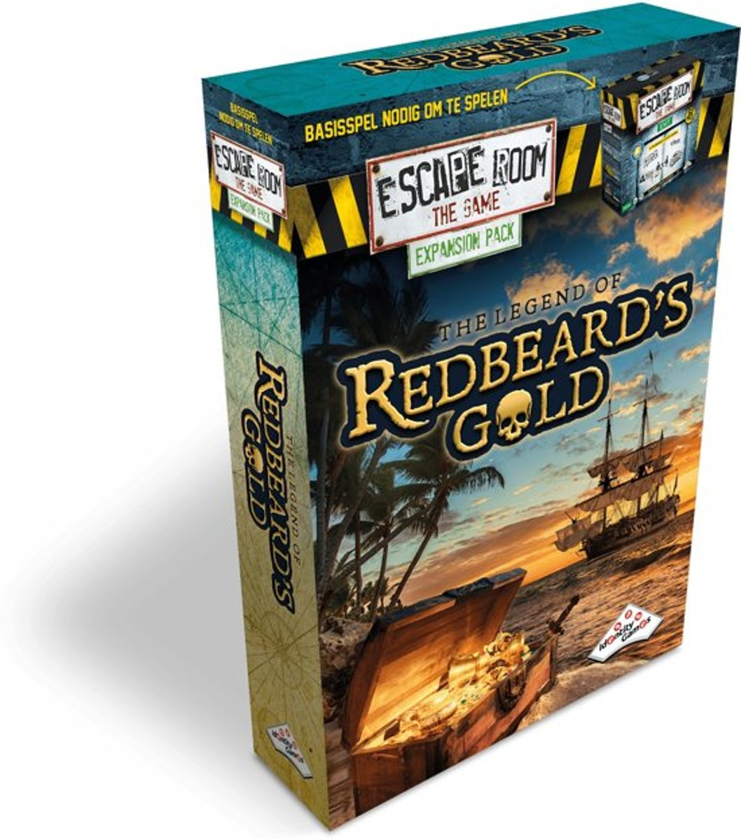 Identity Games Escape Room - The Legend of Redbeards Gold - uitbreidingsset