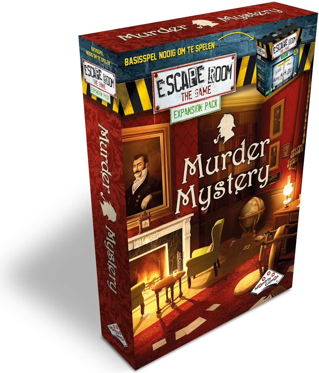 Identity Games Escape Room: Murder Mystery Uitbreidingsset