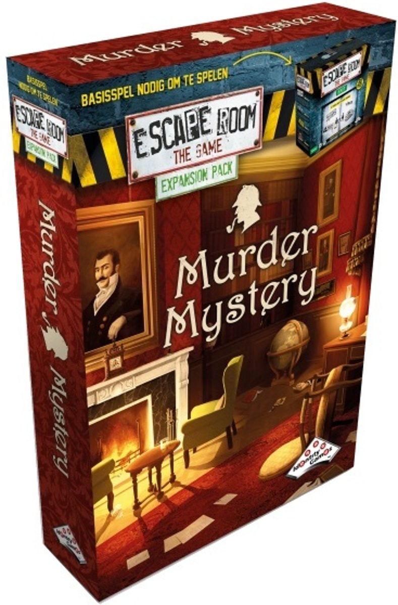 Identity Games Escape Room Murder Mystery Uitbreidingsset