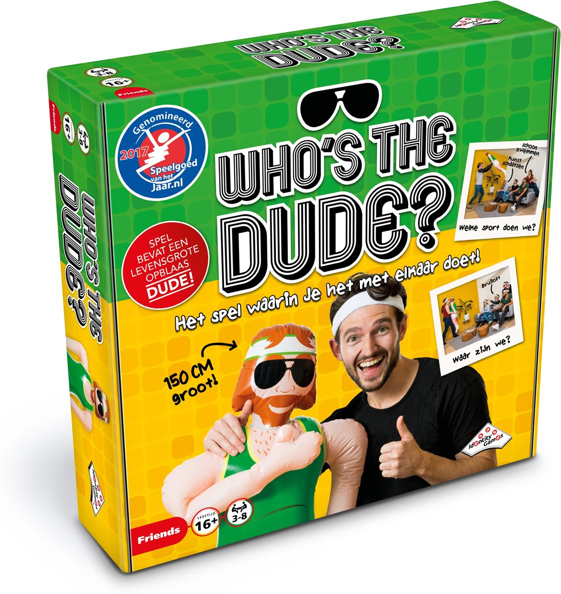 Whos the Dude? - Partyspel