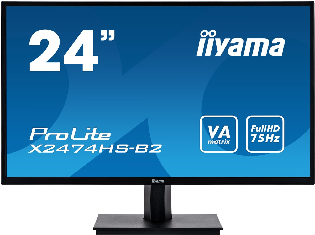 ProLite X2474HS-B2 - Full HD VA