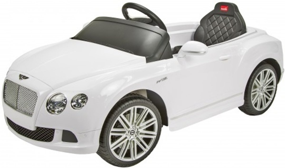 Bentley GTC accuvoertuig 12 Volt R/C wit