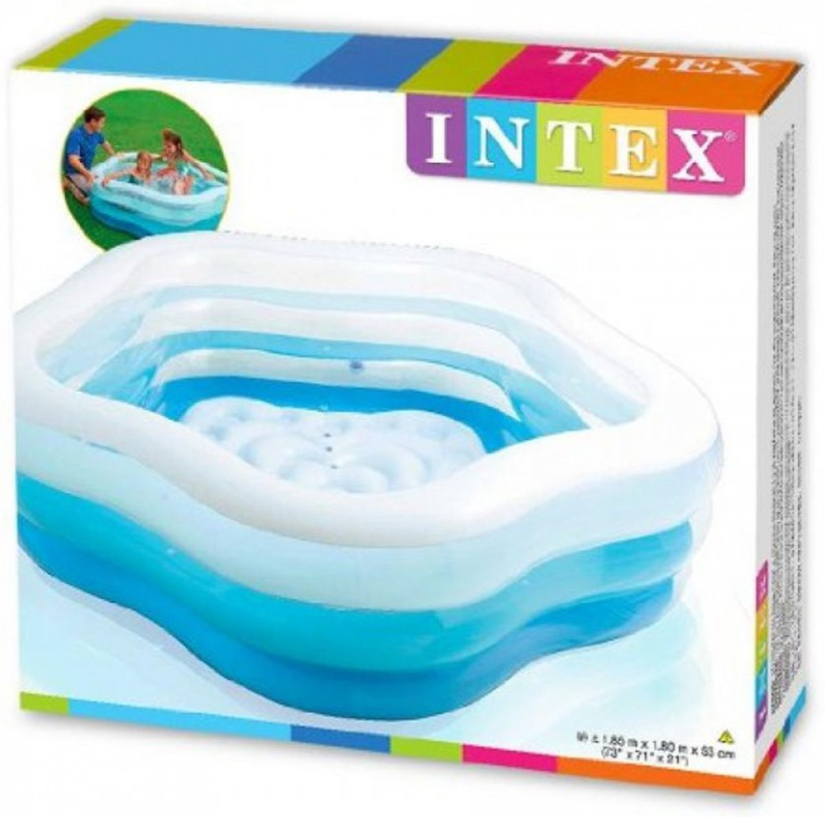Intex - Opblaaszwembad Summer Colors