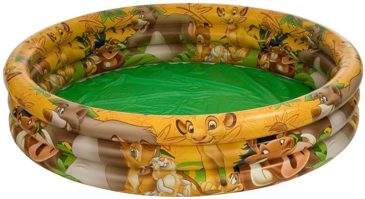 Intex 3 Ring Opblaasbaar Zwembad Jungle Book - 147 cm