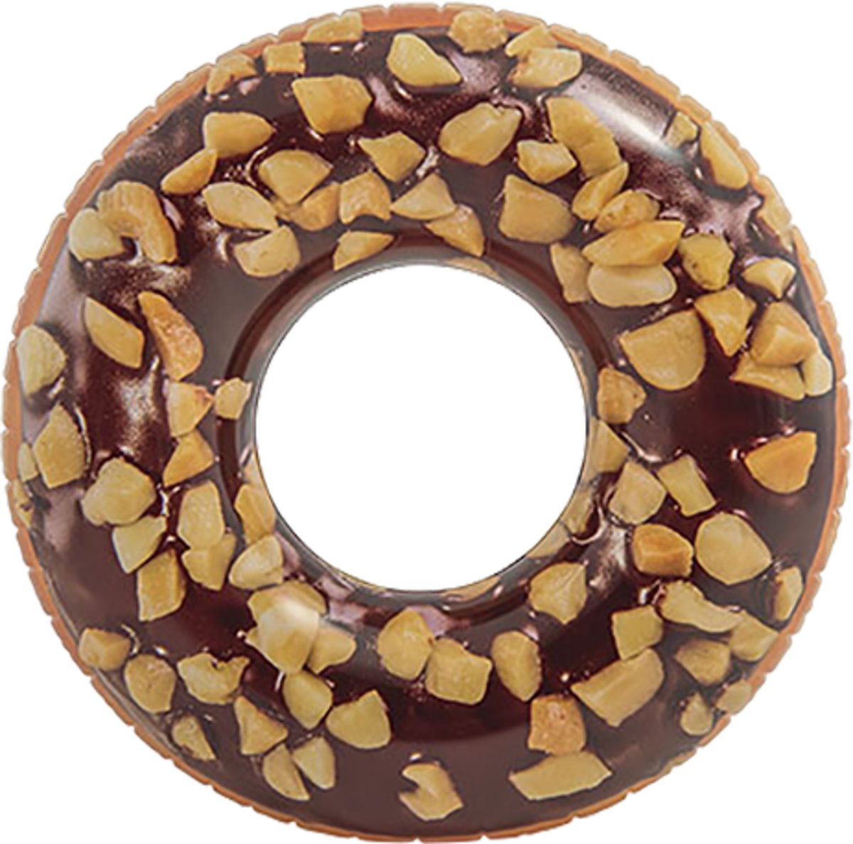 Chocolate donut tube