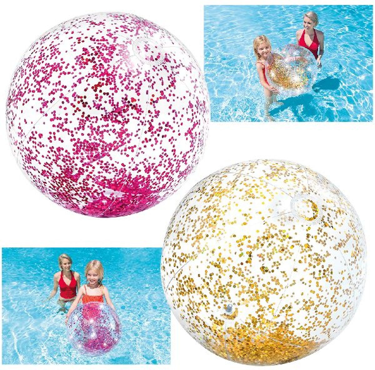 Intex Glitter Beach Ball 71cm