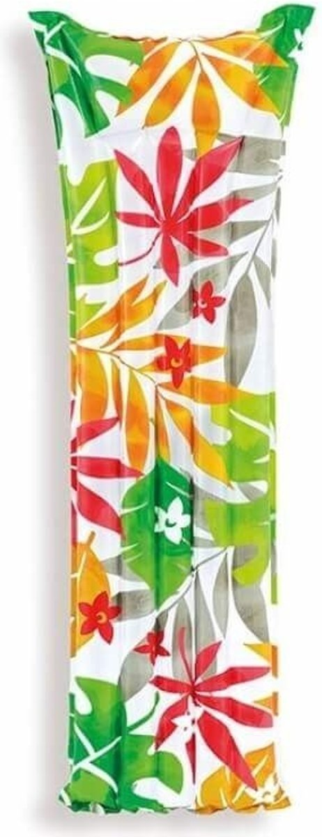 Intex Luchtbed Flower 183 X 69 Cm Wit