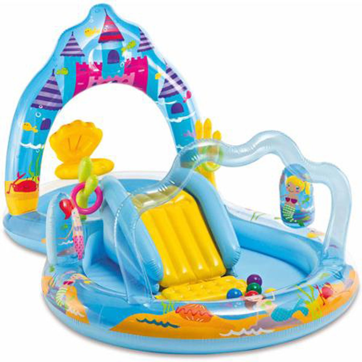 Intex Mermaid Kingdom Play Center