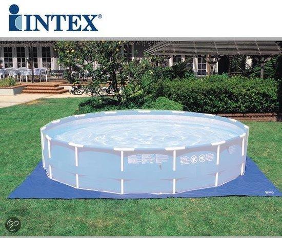 Zwembad grondzeil speelgoed wij vergelijken de speelgoed for Ondervloer intex zwembad