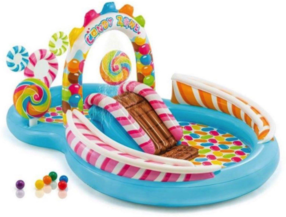 Intex kinderzwembad Candy Zone 295 x 191 x 130 cm