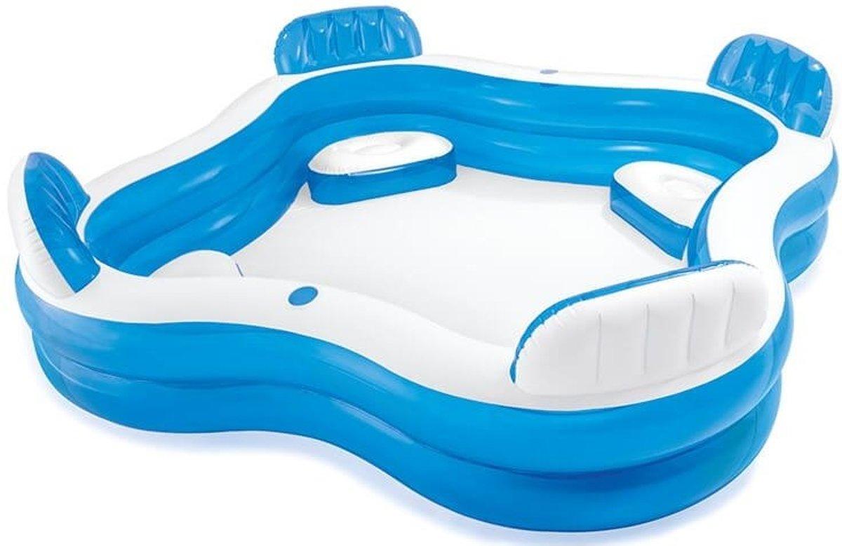 Stoeltjes Voor Baby.Opblaasbaar Zwembad Met Stoeltje Met Reparatiesetje 7435119414432