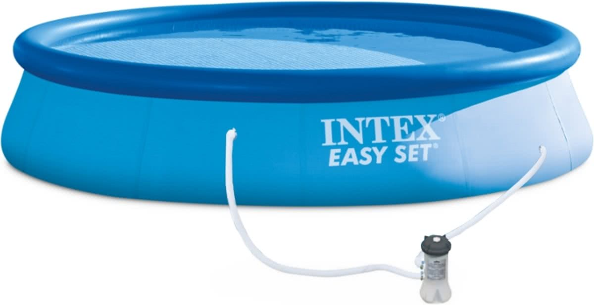 Zwembad Easy Set Incl. Filter/Pomp (Ø:396cm H:84cm) (Intex)