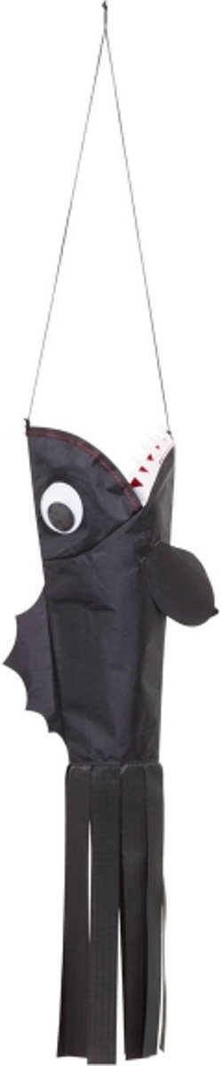 Windsock Little Piranha 73 Cm Zwart