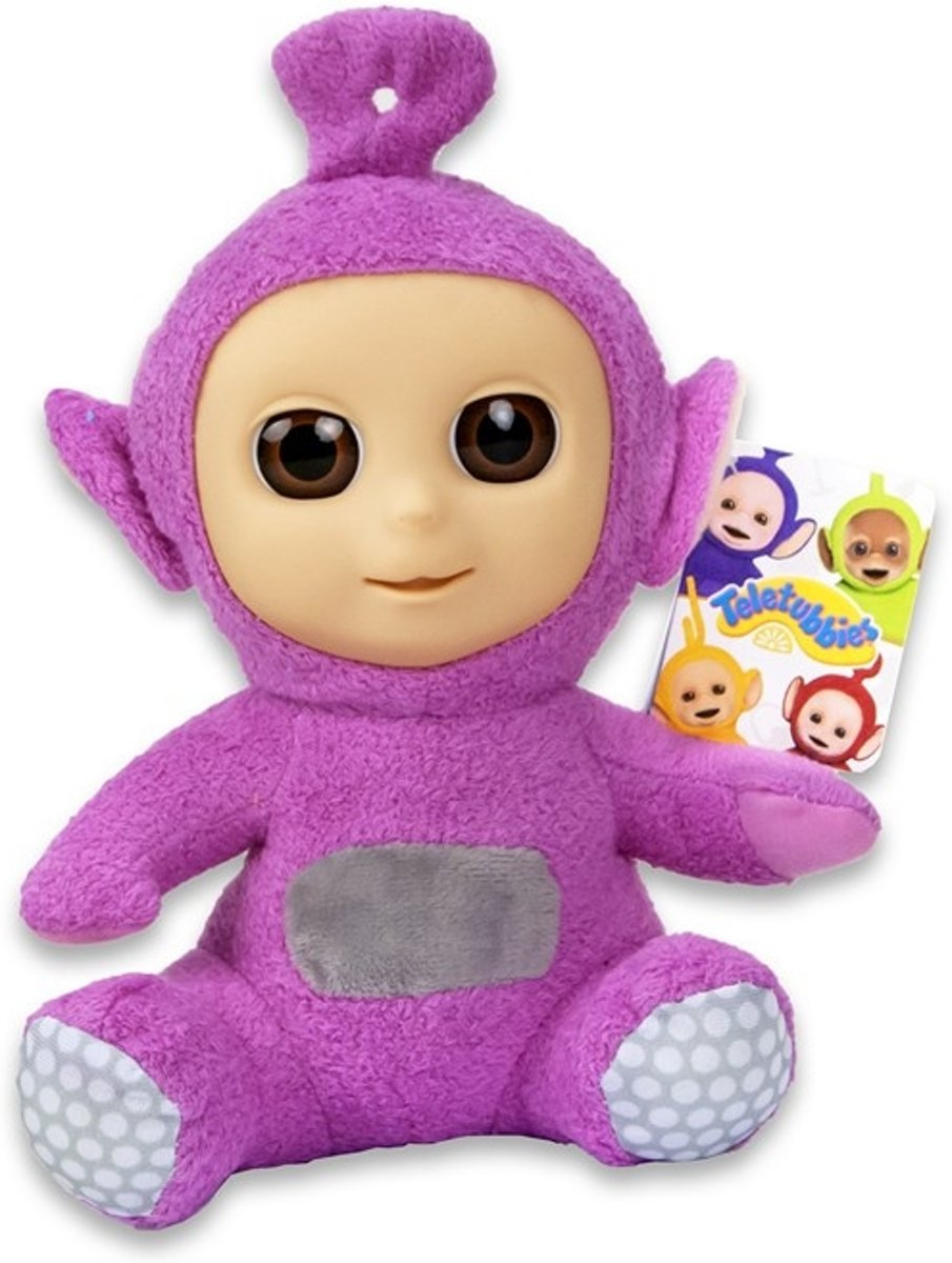 Tiddlytubbies Pink Ping zittend 24cm
