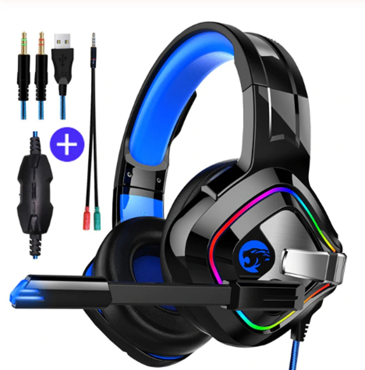 Gaming headset 4D - Gaming headset Xbox One - Gaming headset Laptop - Gaming headset Ps4