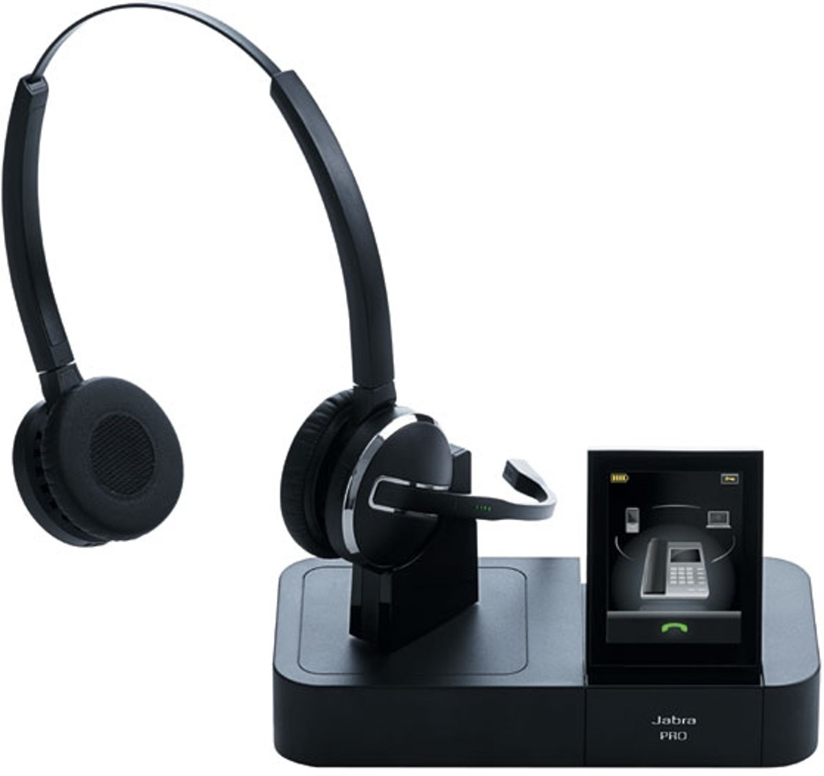 GN Jabra Pro 9460 Pro touchscreen wireless duo headset