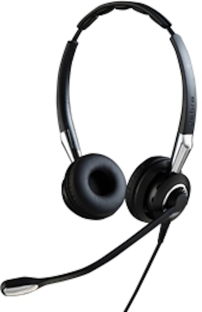 Jabra BIZ 2400 II QD Duo NC - Koptelefoon - on-ear
