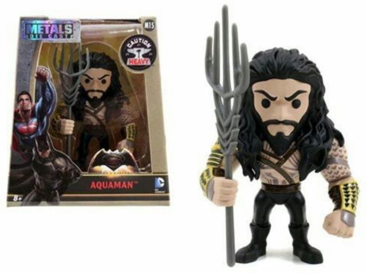 Aquaman M15 Die Cast Metals DC Batman V Superman Action Figure