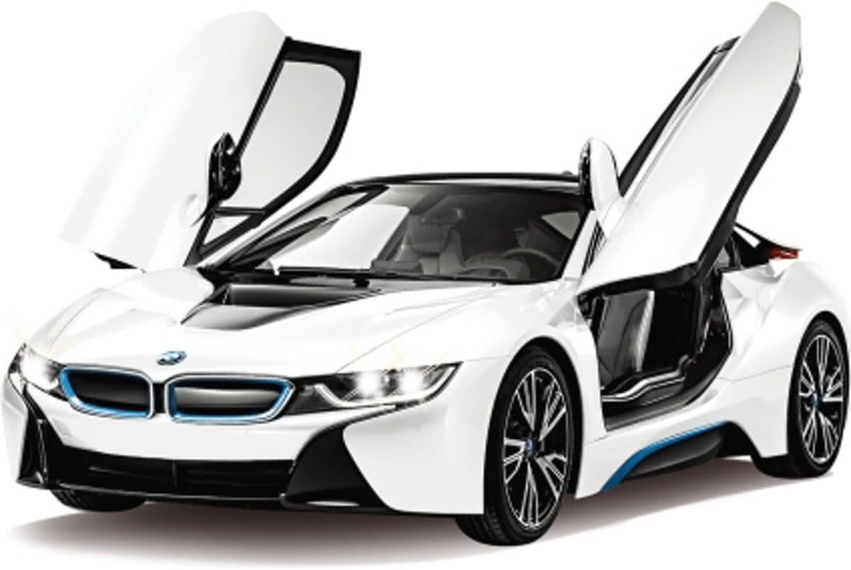 BMW I8 - RC Auto - Wit