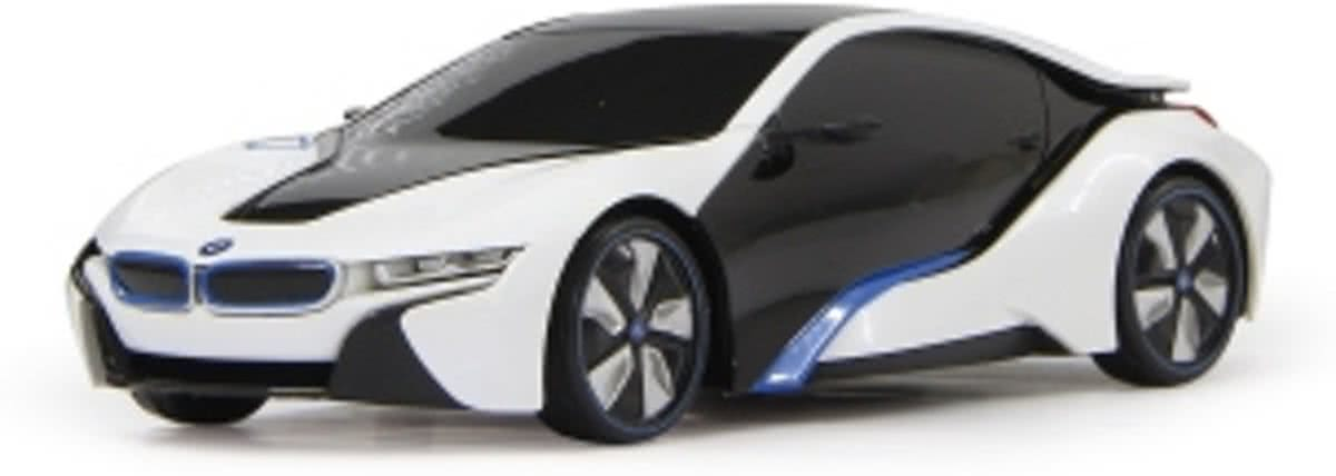 BMW I8 1:24 - RC Auto - Wit