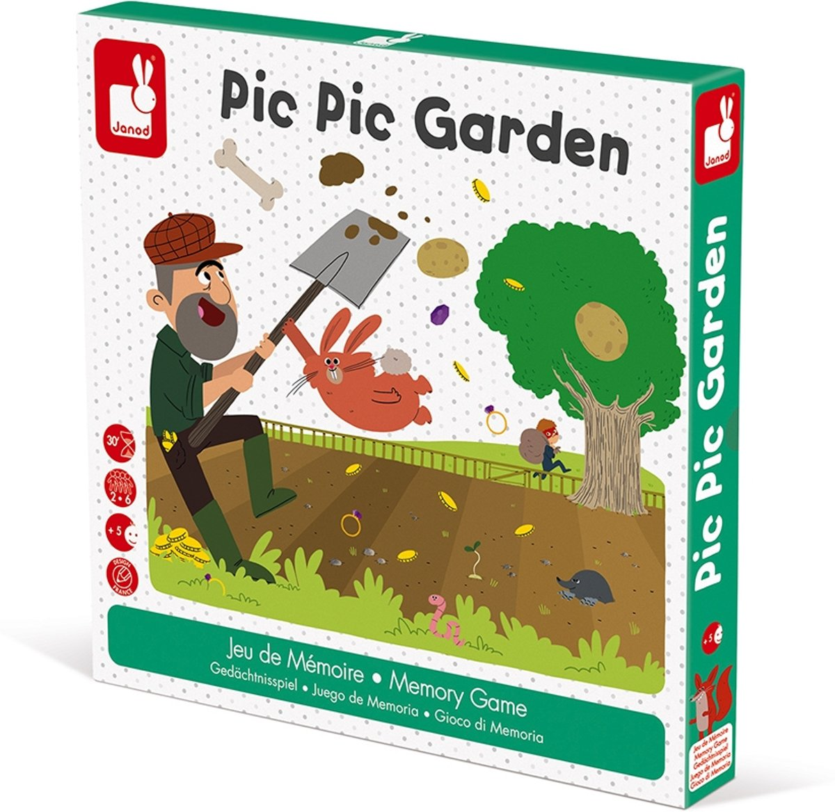 Janod Spel - Pic pic garden