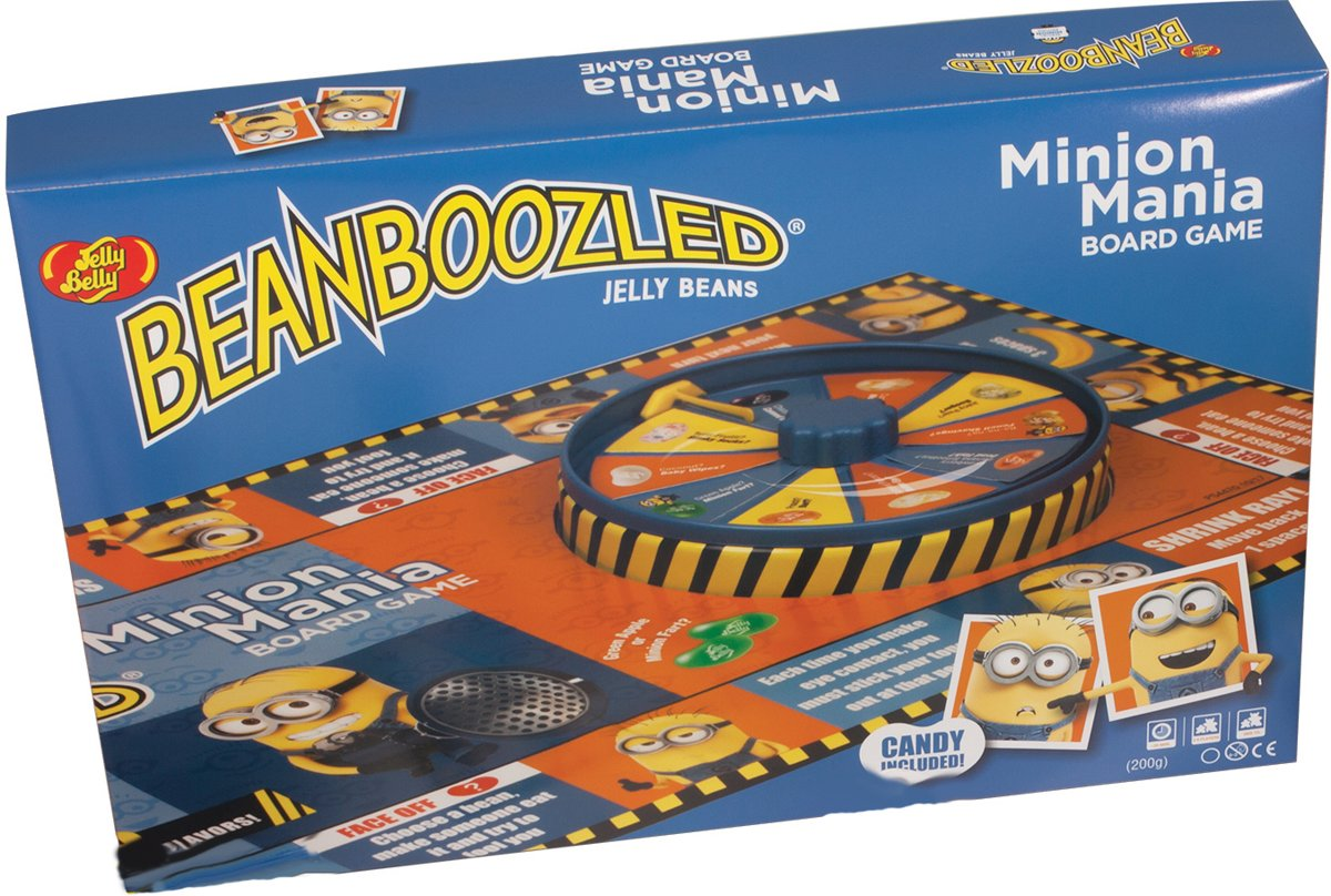 Jelly Belly Bean Boozled Minions Mania Board Game