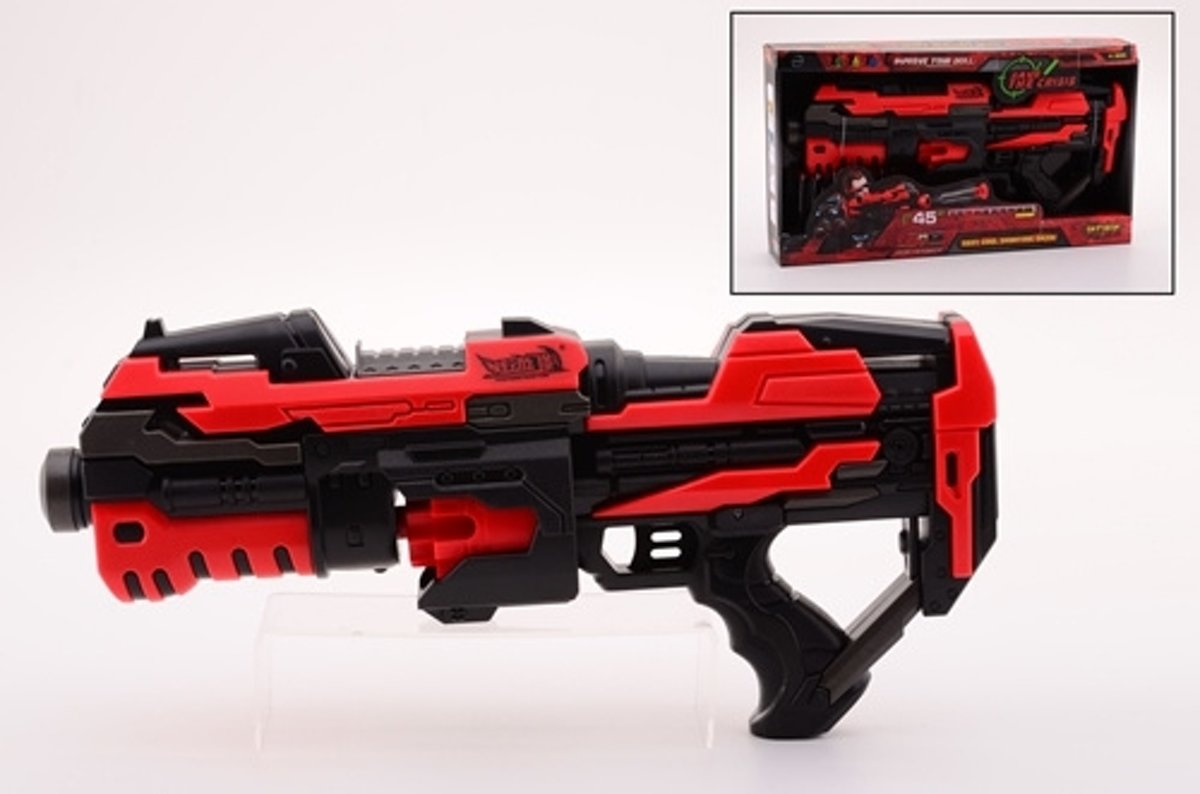 Serve & Protect Rotating Shooter 45cm met 10 pijlen
