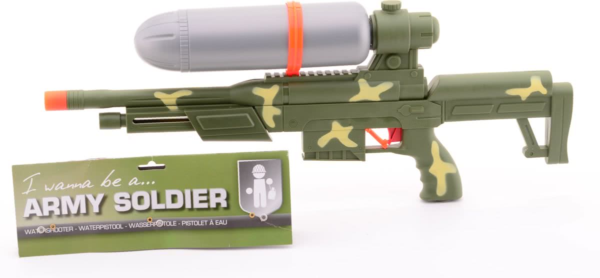 Army Forces waterpistool 60cm.