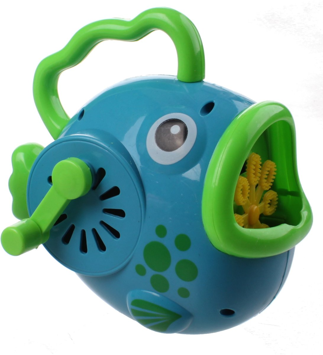 machine Bubble Fish 15 Cm Blauw