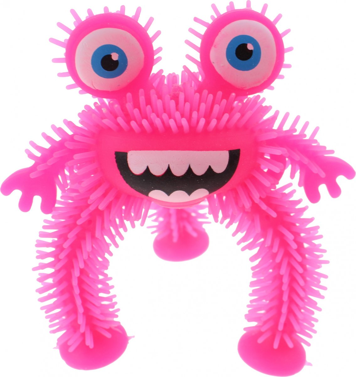Johntoy Driepotig Monster 10 Cm Roze