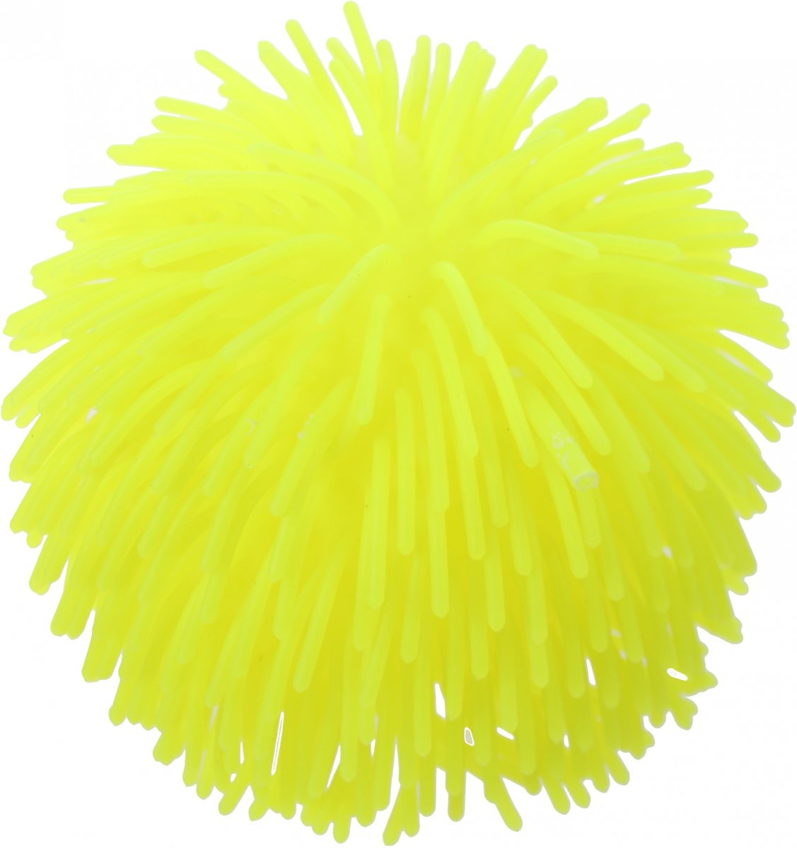 Johntoy Fluffy Bal Geel 140 Mm