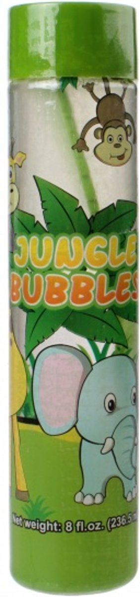 Fun Bubble   Bloemen 235 Ml Groen