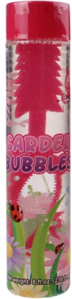 Fun Bubble   Bloemen 235 Ml Roze