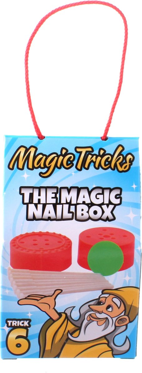 Johntoy Goocheltruck The Magic Nail Box Blauw