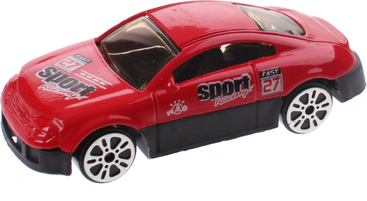 Johntoy Schaalmodel Super Cars Die-cast 7 Cm Rood