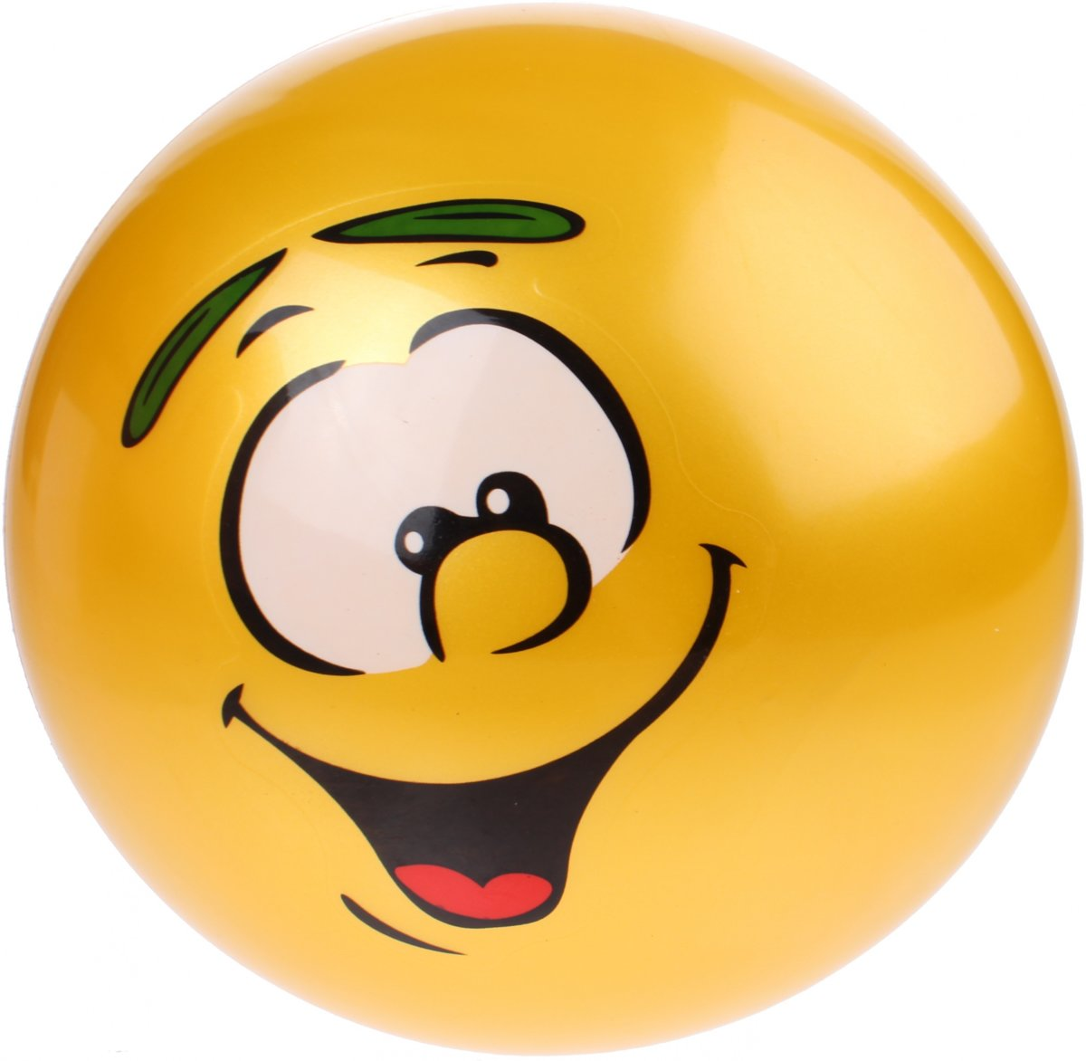 Johntoy Speelbal Smiley 20 Cm Geel