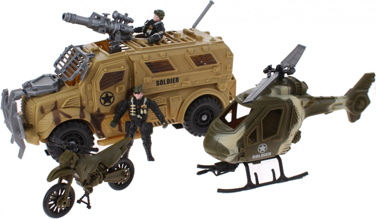 Johntoy Speelset Combat Force 5-delig