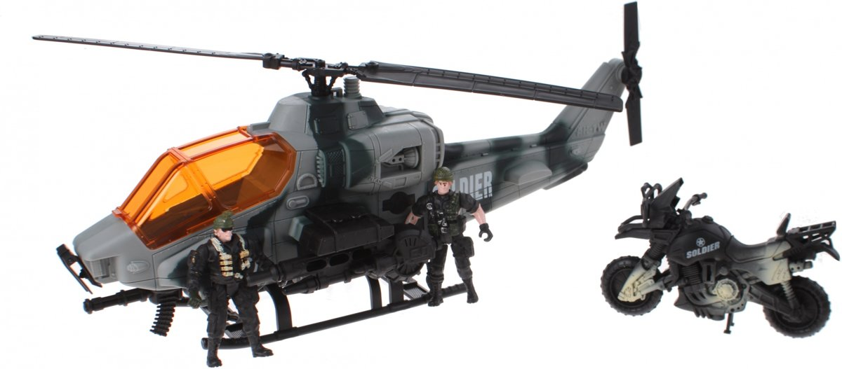 Johntoy Speelset Helikopter Combat Force 5-delig