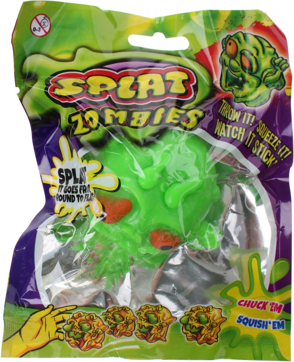 Johntoy Splat Zombie Groen 60 Mm