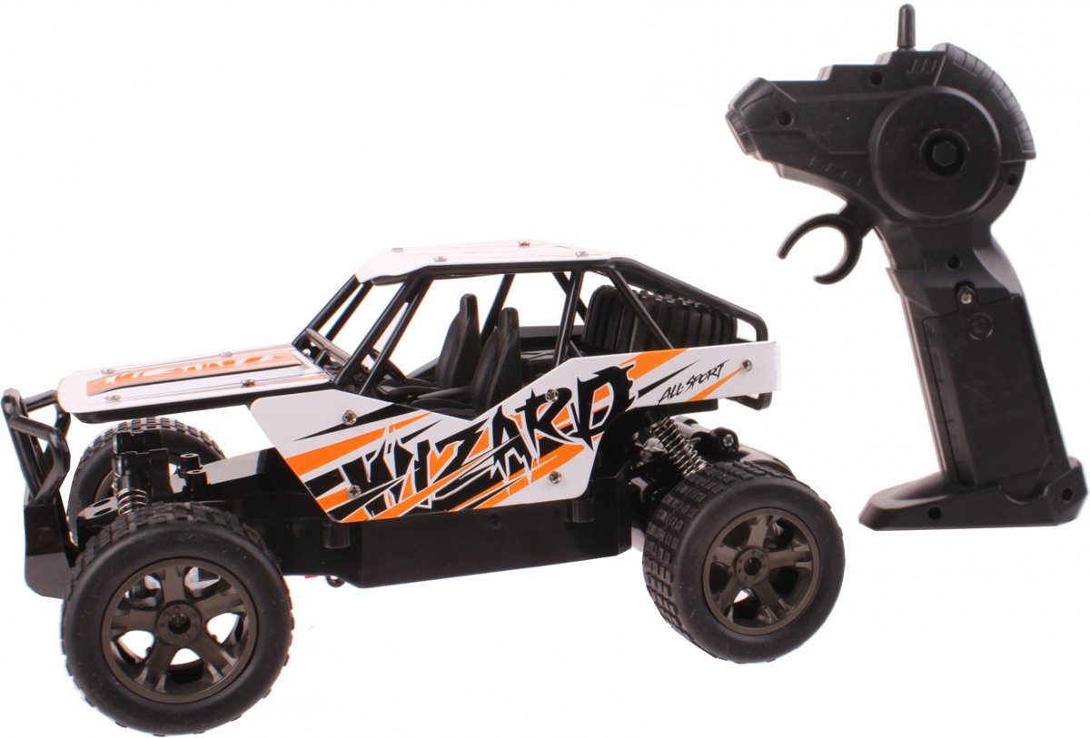 Johntoy The King Cheetah Off-road Auto Die-cast 1:18 Oranje