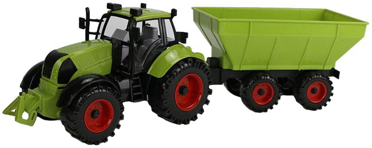 Johntoy junior farming tractor met kiepwagen