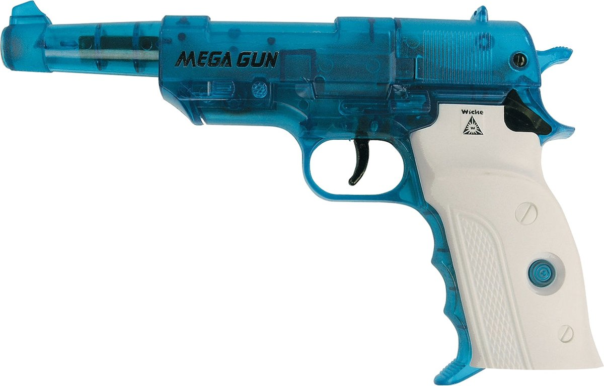 Mega gun 240mm, 8 shots, colorline, op kaart