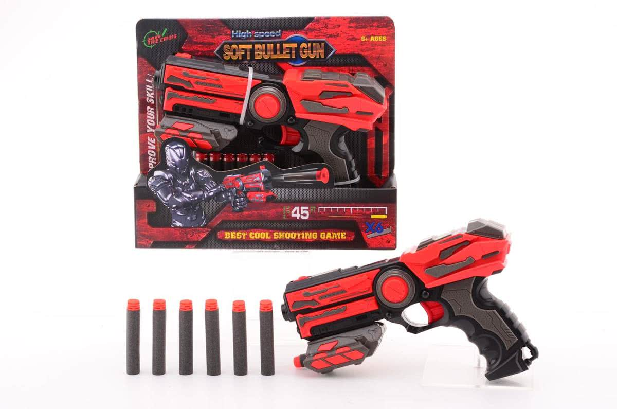 Serve & Protect Shooter Basic 23cm met 6 pijlen