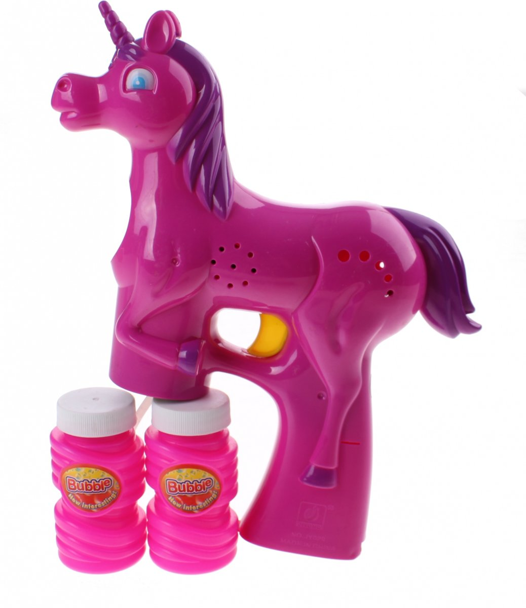 Machine Unicorn Met Licht Roze
