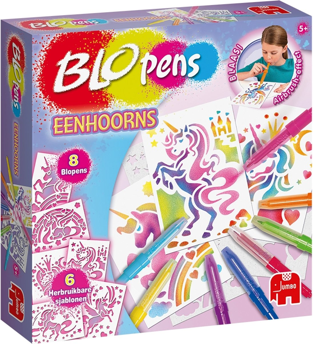 Blopens Activity set - Unicorns