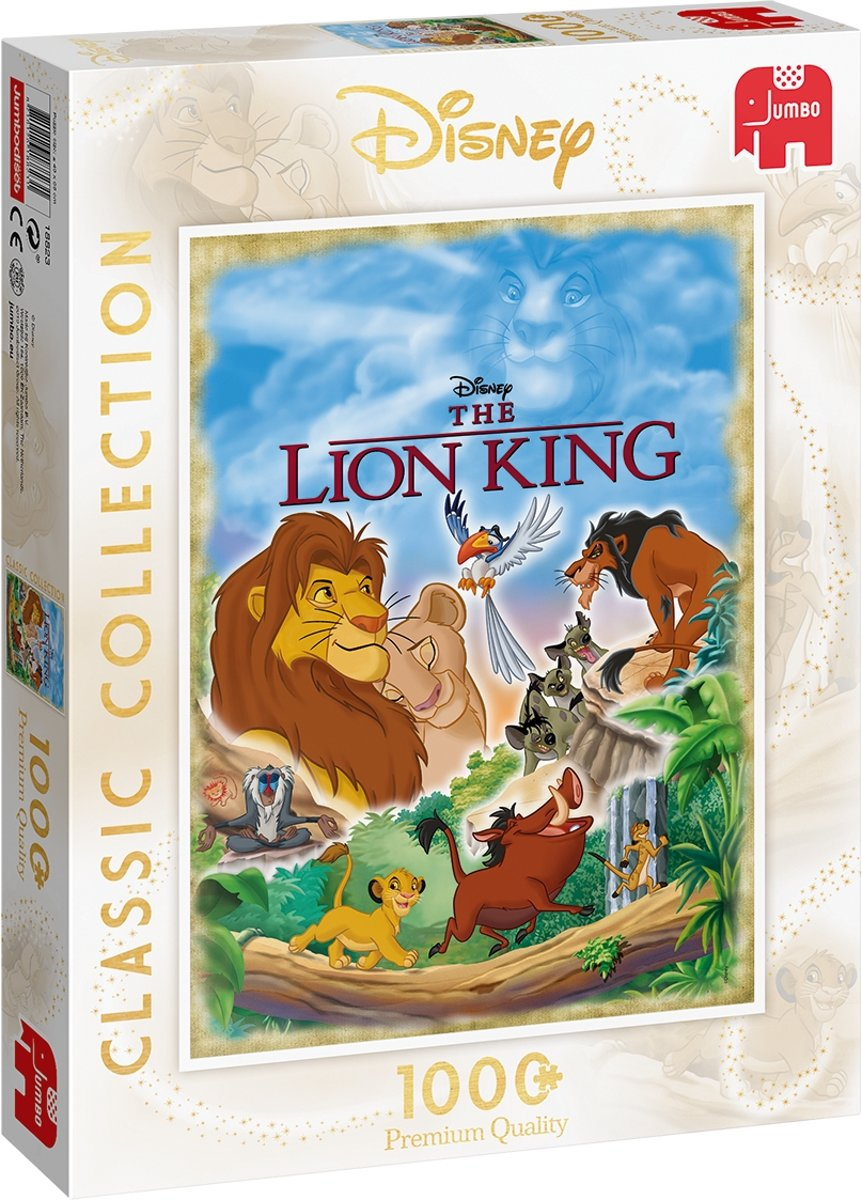 Disney Classic Collection Lion King Premium Collection Puzzel 1000 Stukjes