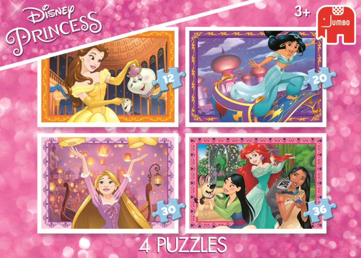 Disney Princess 4in1 Puzzle