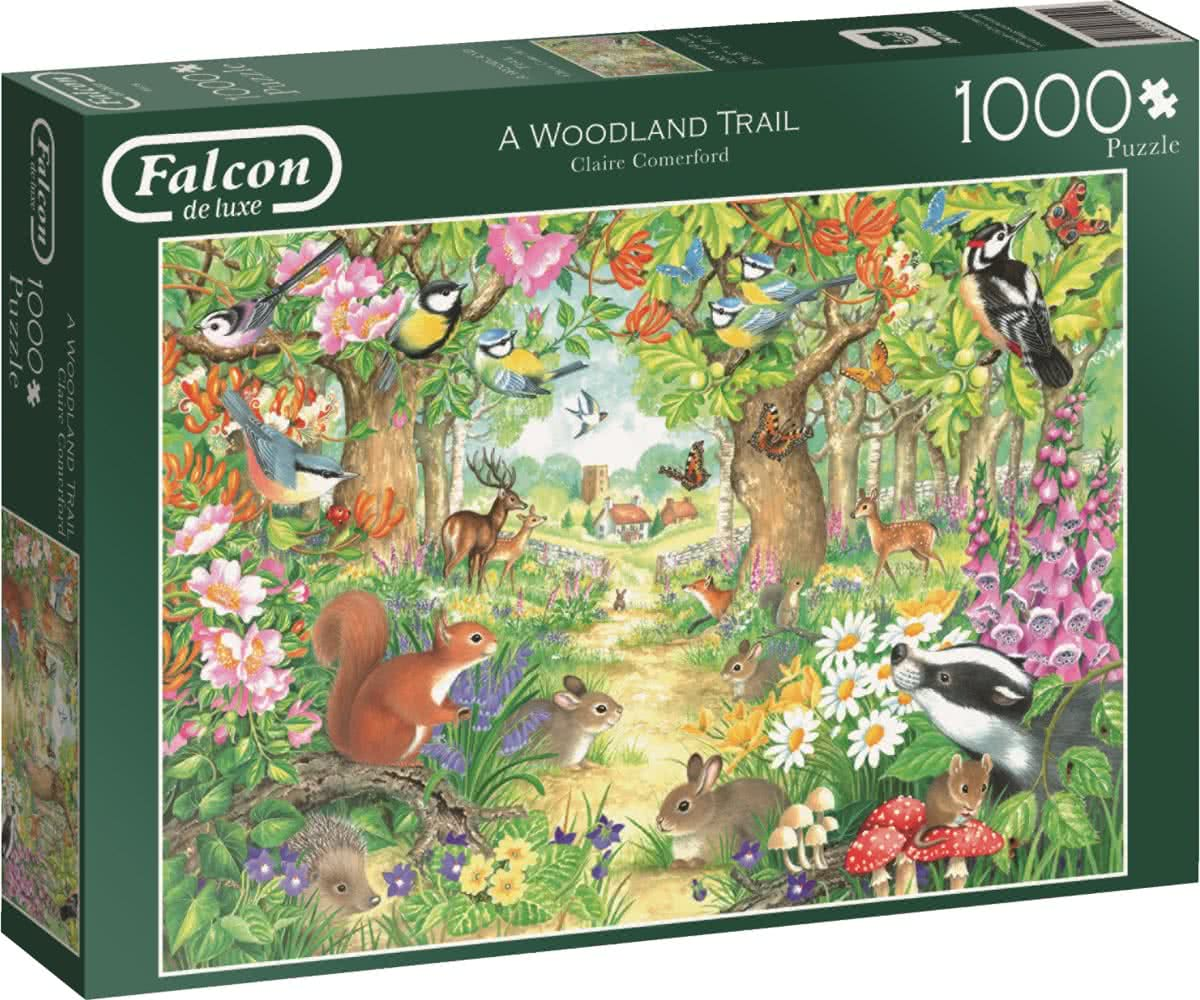 Falcon A Woodland Trail 1000 stukjes